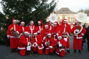 Kerstmannen orkest